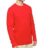 Polo Ralph Lauren Waffle-Knit Long Sleeve Crew Shirt P551