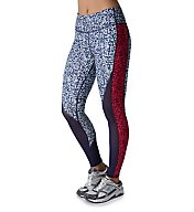 Puma Clash Print Block DryCELL Wide Waistband Tight 515361