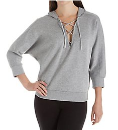 Puma Yogini WarmCELL Lace Up Neck Hoodie 515722