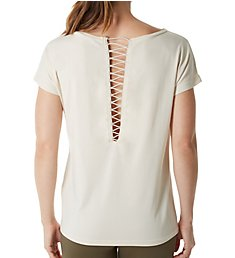 Puma Lace Up Fashion Tee 575056