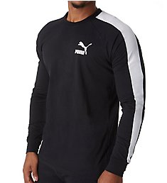 Puma Classic T7 Long Sleeve Logo T-Shirt 576925