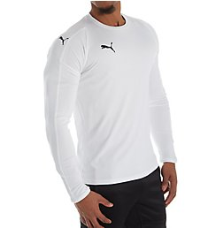 Puma LIGA Core Long Sleeve Performance Jersey T-Shirt 703419