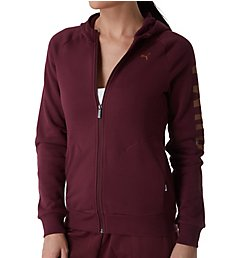 Puma Athletic Full Zip Fleece Hoodie 853438