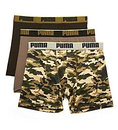 Puma Men's Sportstyle Boxer Briefs - 3 Pack M15009