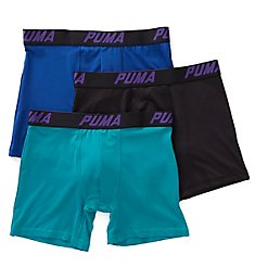 Puma Tech Performance Boxer Briefs - 3 Pack PMTBB-F
