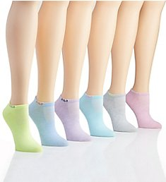 Ralph Lauren Marled Low Cut Sock - 6 Pair Pack 727776