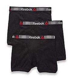 Reebok Cotton Boxer Briefs - 3 Pack 163PB04