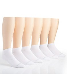 Reebok Low Cut Basic Athletic Socks - 6 Pack 191LC01