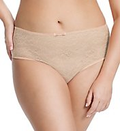 Sculptresse by Panache Pure Lace Full Brief Panty 6932