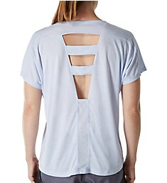 Soffe Juniors Feel The Burn Back Cutout Tee 6547V