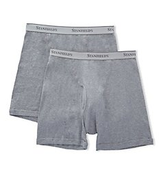 Stanfield's Premium 100% Combed Cotton Boxer Briefs - 2 Pack 2516