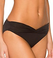 Sunsets Solid Sash Low Rise Swim Bottom 14B