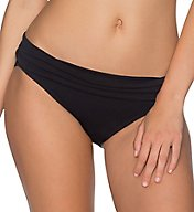 Sunsets Solid Unforgettable Fold Brief Swim Bottom 27b