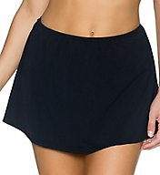 Sunsets Solid Sidekick Skirted Swim Bottom 49b