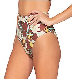 Swim Systems Desert Blooms Cora Tie Back Swim Bottom B375DB