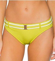 Swim Systems Lemon Drop Zuma Belted Hipster Swim Bottom C215LD