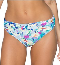 Swim Systems Meadow Aloha Banded Brief Swim Bottom C247MW
