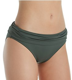 Swim Systems Rainforest Aloha Banded Brief Swim Bottom C247RS