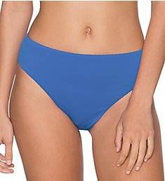 Swim Systems Blue Violet High Noon High Rise Brief Swim Bottom C278BV