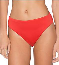 Swim Systems Paprika High Noon High Rise Brief Swim Bottom C278PR