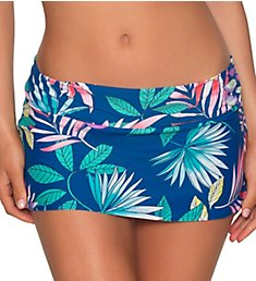 Swim Systems Pacific Oasis Aloha Skirted Hipster Swim Bottom C282PO