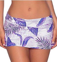 Swim Systems Island Dream Aloha Skirted Hipster Swim Bottom C282SD