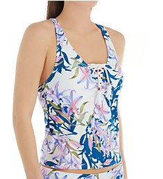 Swim Systems Lily Patch Tahlia Tankini Swim Top C676LP
