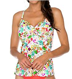 Swim Systems Antigua Crossroads Underwire Tankini Swim Top C792AT