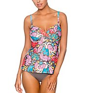 Swim Systems Woodstock Crossroads Underwire Tankini Swim Top C792WD