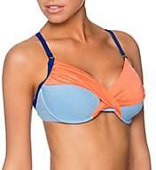 Swim Systems Saltwater Crossroads Underwire Bikini Swim Top C794ST