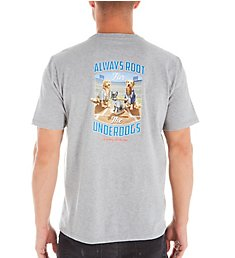 Tommy Bahama Tall Man Root For The Underdogs Tee BT225308T