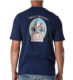 Tommy Bahama Knotty Or Nice Holiday Screen Print T-Shirt TR215861