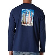 Tommy Bahama Preferred Parking Long Sleeve Print T-Shirt TR215866