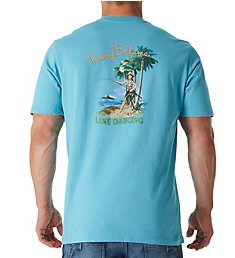 Tommy Bahama Line Dancing Screen Print T-Shirt TR215886