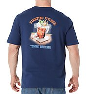 Tommy Bahama Starting Pitcher Screen Print T-Shirt TR216796