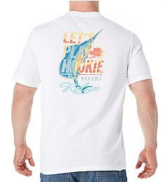 Tommy Bahama Let's Play Hookie Screen Print T-Shirt TR216852