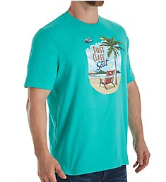 Tommy Bahama First Class Seat Screen Print T-Shirt TR218896