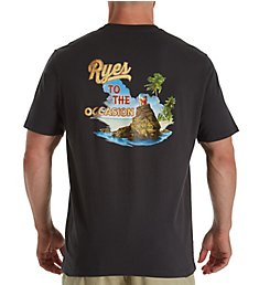 Tommy Bahama Ryes To The Occasion Screen Print T-Shirt TR218899