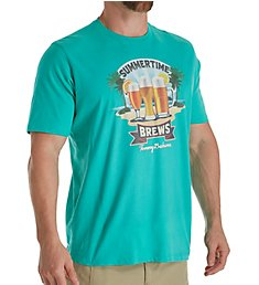 Tommy Bahama Summertime Brews Screen Print T-Shirt TR218908