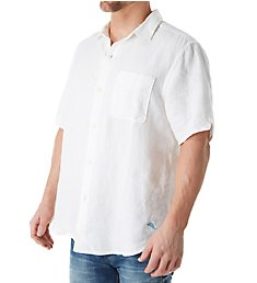 Tommy Bahama Sea Glass Breezer Short Sleeve Linen Shirt TR310623