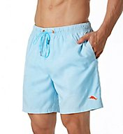 Tommy Bahama Naples 3 Palm Night Jacquard 6 Inch Swim Short TR914872