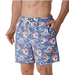 Tommy Bahama Naples Kois of Summer 6 Inch Swim Trunk TR918716