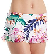 Tommy Bahama Orchid Canopy Ruffle Skirted Hipster Swim Bottom TSW31608B