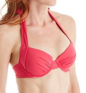 Tommy Bahama Pearl Solids Underwire Full Coverage Swim Top TSW78800T