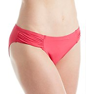 Tommy Bahama Pearl Solids Side Shirred Hipster Swim Bottom TSW78811B