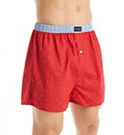 Tommy Hilfiger Micro Flag Basic100% Cotton Woven Boxer 09T3110