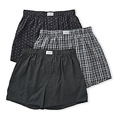 Tommy Hilfiger Cotton Classics Woven Boxer - 3 Pack 09TV058